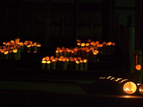 5000竹ロウソクと除夜の鐘H27010