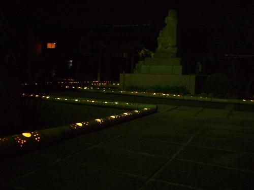5000竹ロウソクと除夜の鐘H27013