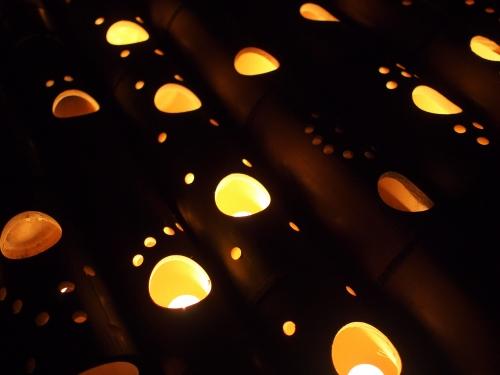 5000竹ロウソクと除夜の鐘H27015