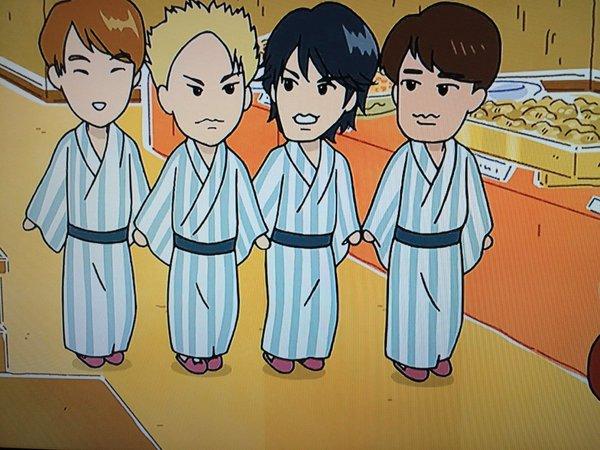 KAT-TUNがアニメ『新あたしンち』に登場!四人による最後のTV出演がアニメだった件wwwwwww