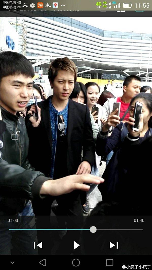 【画像】山下智久が上海に降臨した結果wwwwwwww