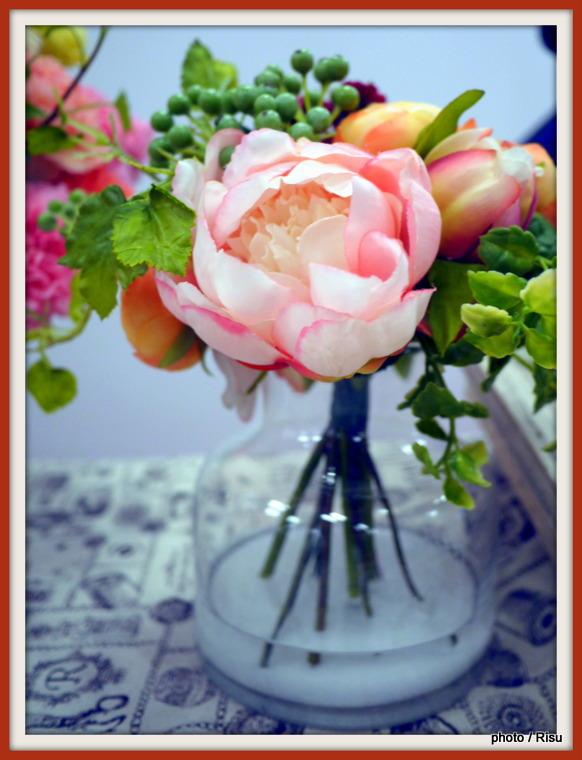 アーティフィシャルアレンジメント「ラフィナート」日比谷花壇2016母の日