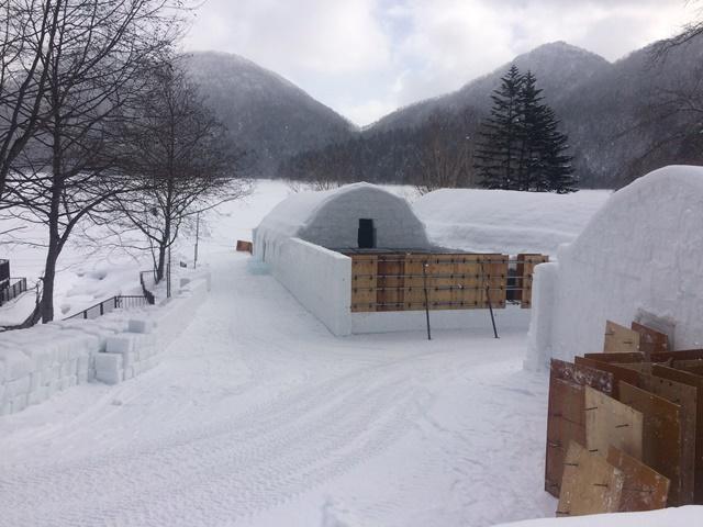 雪の造形2