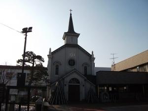 160317弘前カトリック教会