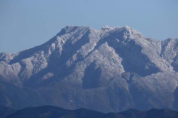石鎚山冠雪 151218 03