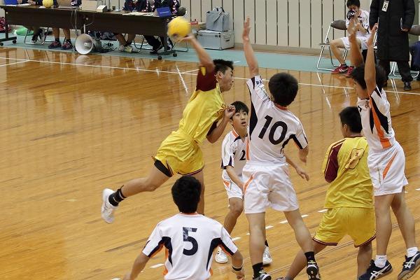 一年生大会準決勝 松北-松東 160214 02