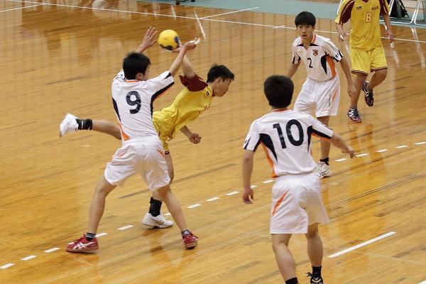 一年生大会準決勝 松北-松東 160214 01