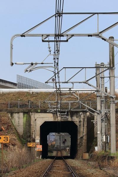 予讃線・大明神川トンネル 160312 05