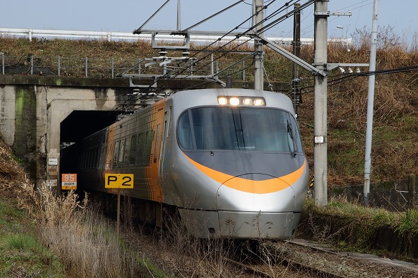 予讃線・大明神川トンネル 160312 02