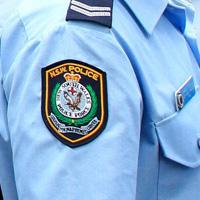 警察官のマーク