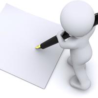 書類への記入
