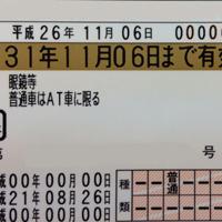 ゴールドの免許