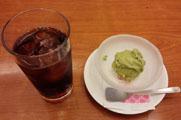 アイスティー&抹茶アイス