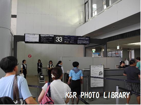 2015年7月16日成田空港33番ゲート