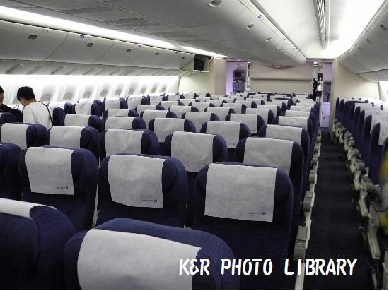 2015年7月16日B777ー200機内1
