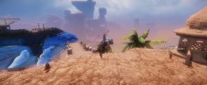 不死の砂漠