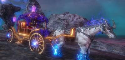 伯爵の馬車