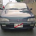 仮ナンバーの車2