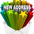 新しい住所