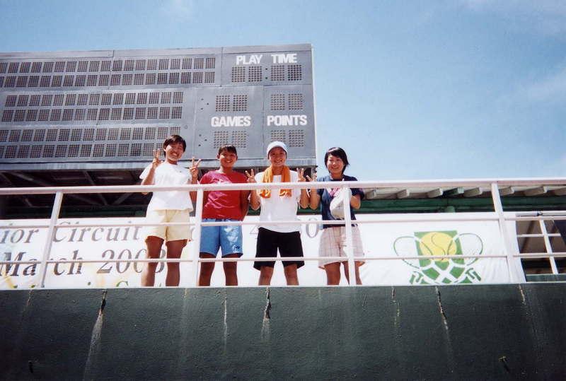 ITF参戦ジュニア