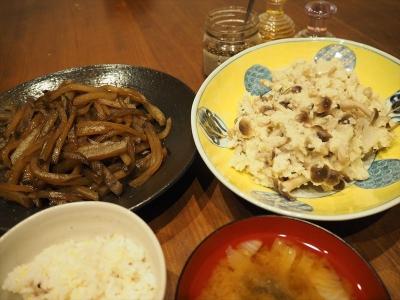7ヒエクリーム煮夕食_R