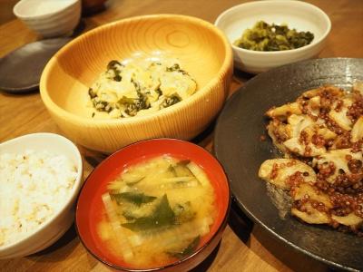 23たかきびレンコン夕食_R