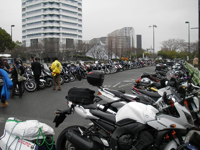 インテックス大阪駐輪場201603