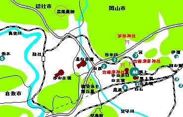 115話岡山市深井氏分布図下図(最終)