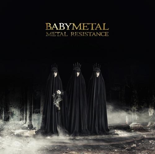 BABYMETAL、ニューアルバム『METAL RESISTANCE』の新ビジュアル解禁2