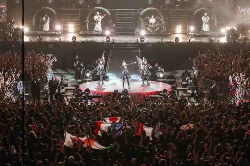 BABYMETAL、日本人初のウェンブリー公演 1万2000人熱狂2
