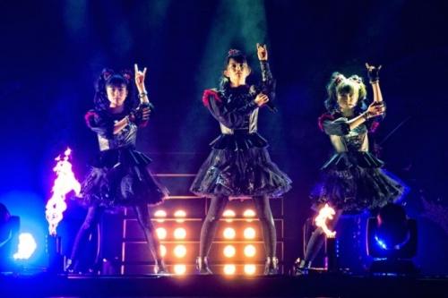 BABYMETAL、日本人初のウェンブリー公演 1万2000人熱狂1