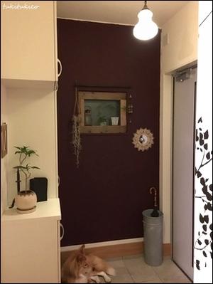 玄関の鏡1