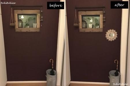 玄関の鏡6