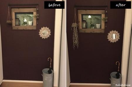玄関の鏡8