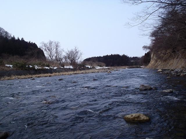2016年3月西小野田上流。