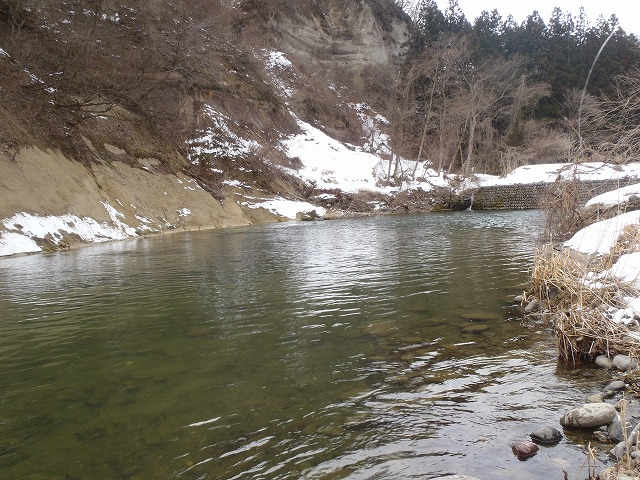 2016年3月西小野田下流。