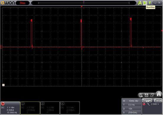 SP SIGNAL(LEDチカチカ)(パターン切れ)診察4