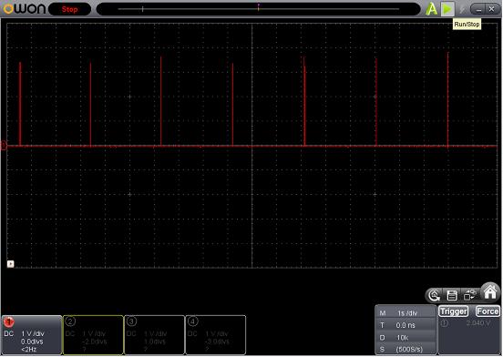 SP SIGNAL(LEDチカチカ)(パターン切れ)診察5