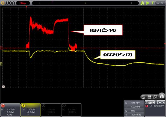 SP SIGNAL(LEDチカチカ)(パターン切れ)診察6