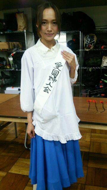 ビクトリーショーの日本女性さん