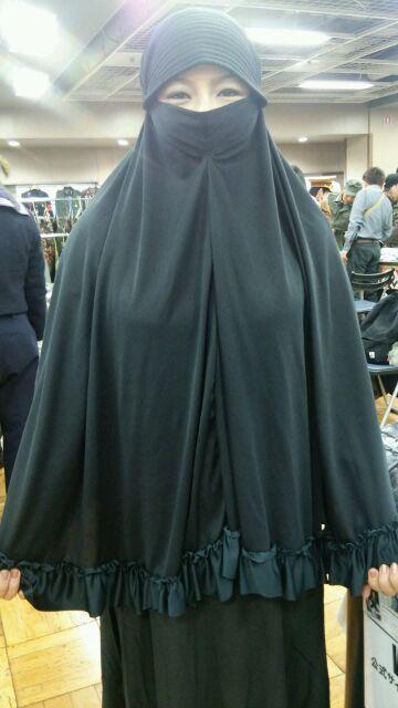 ビクトリーショーのイスラム女性さん