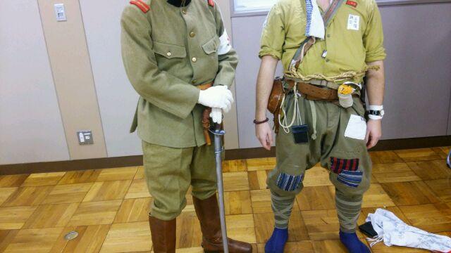 ビクトリーショーの日本兵さん