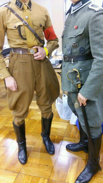ビクトリーショーのドイツ兵さん