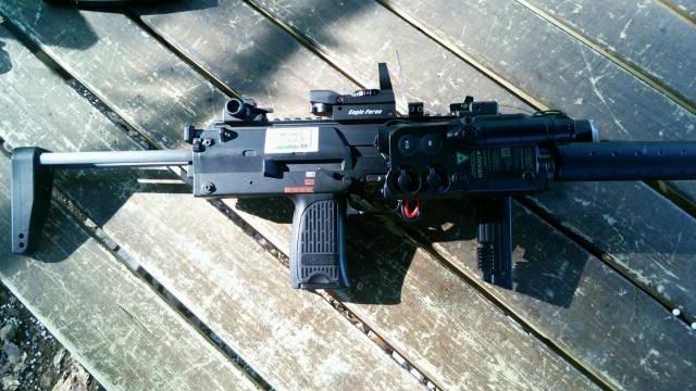 MP7屋外ホップ調整