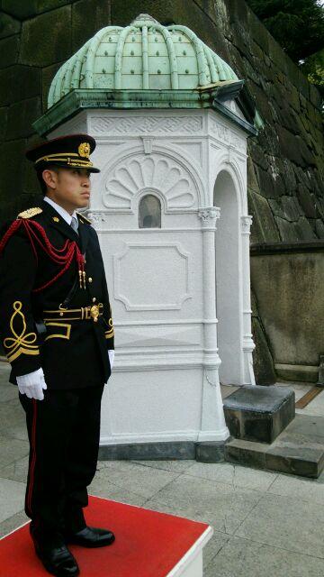 皇居警官1