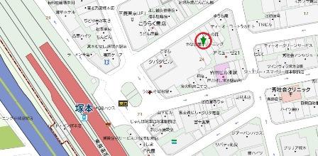 塚本2丁目店舗地図