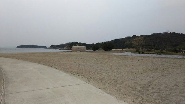 160330 犬島海水浴場① ブログ用