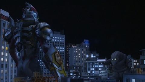 ウルトラマンエックス(エレキングアーマー) vs テレスドン
