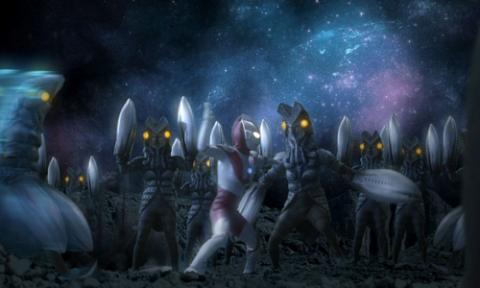 ウルトラマン vs バルタン星人