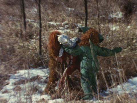 イカルスとゴーロン2人がかりでウルトラセブンに襲いかかった